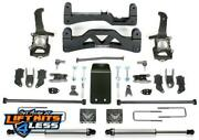 Fabtech K2114dl 6 Basic Stock C/o Spacers F/r Dl Ss Shocks For 09-13 Ford F-150