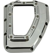 Trask Tm-017ch Chrome Assault Series Cam Cover W/ Window 01-17 Harley Twin Cam