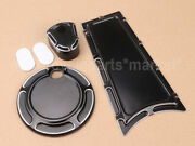 Slopecut Fuel Tank Door Dash Track Insert Ignition Switch Cap For Harley Touring