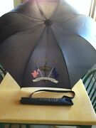 1999 Ryder Cup Umbrella, The Country Club Brookline Ma, Johnny Walker