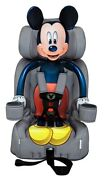 Toddler/booster Car Seat Combo Forward Face Harness Minnie Mickey Paw Patrol Etc