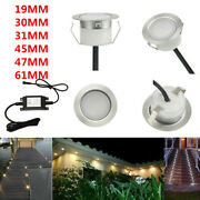 19/30/31/45/61mm Low Voltage Driveway Terrace Led Deck Stair Step Soffit Lights