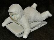 Department 56 Snowbabies Hold On Tight 7956-1 No Box