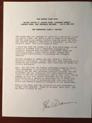 John G. Davies Signed Typescript By Judge About Police Officers-rodney King Case