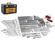 Gearwrench Kd 80966 243 Piece 6 Point Shop Socket And Tool Set Brand New