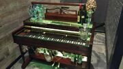 1955 Piano Bar Conversion. Full Led Color Spectrum Two 3/8 Tempered Glass Tops