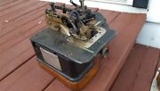 Willcox And Gibbs Vintage Overlock Serger Industrial Sewing Machine