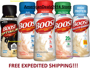 Boost Shakes - Original Plus High Protein And Glucose Control - Fresh Sealed