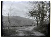 2 Glass Negatives Dwight's Mill Mt. Monadnock And Lake From Mill Dublin Nh 1900