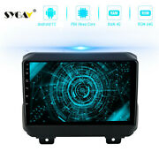 Android Radio For 2018 Jeep Wrangler Jl Stereo Head Unit Gps Navigation Player