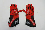 Alpinestars Gloves Tech 1-zx Nomex Red With Black Auto Racing Homologated S New