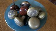 14 Gorgeous Antique Victorian Door Knobs For Use Or Display