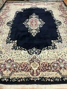 9and03910 X 12and0395 Indian Oriental Rug - Full Pile - Hand Made - 100 Wool