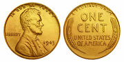 1943 Genuine Steelie Wwii Lincoln Wheat Wartime Penny 24k Gold Plated Qty 20