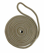 Buccaneer Rope 30-00530 5/8 Inch X 30 Ft. White/gold Double Braid Dock Line