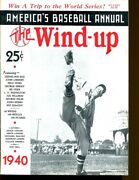 1940 The Wind-up Baseball Annual Magazine Lefty Grove Red Sox 52441b29