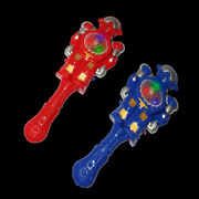 Lumistick Glowing Xmas Toy For Kids Game, Light-up Musical Robot Wand Lot