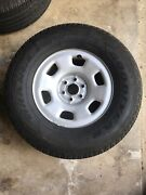 Used 16 Inch Rims 6 Lug Chevy And Tires 265/70r16 Under 10,000 Miles