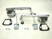 65 66 1965 1966 Ford Galaxie Outside Door Handles / Buttons New