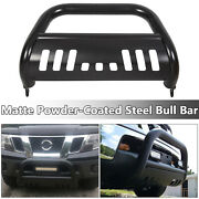 For 05-19 Nissan Frontier Pathfinder Black 3 Bull Bar Push Bumper Grille Guard