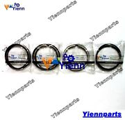 For Yanmar 4jh2-te 4jh2 4jh2-t Piston Ring Set Fit Marine Boat Engine Parts