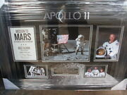 Buzz Aldrin Man On The Moon 50th Anniversary Signed Montage
