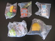 Extreme Ghostbusters Burger King Kids Club Complete 5 Toys Set 1999 Uk Only