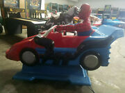 Spiderman Coin Operated Kiddie Ride