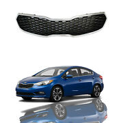 For 2014 2015 2016 Kia Forte Forte5 Front Bumper Grill Grille Assembly Chrome