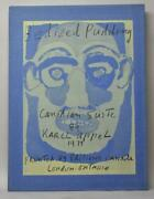 Bedized Pudding Karel Appel 1979 Canadian Suite Fabric Covered Print Box