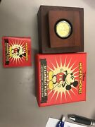 Disney Mickey Mouse Steamboat Willie Limited Edition 1/4 Oz Gold Coin