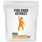 Bulksupplements.com Pine Bark Extract Powder And Capsules Blood Flow Supplement