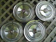 Vintage 1955 55 Buick Roadmaster Hubcaps Wheel Covers Center Caps Antique