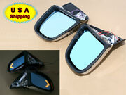 Chrome Motorcycle Led Turn Signal Rearview Mirrors For Bmw K1200lt K1200m 99-08