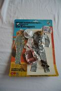 The Lone Ranger Rides Again Marx Gabriel The Kidnappers Figure Outfit Moc