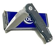 Large Colt The Legends Continues China Ct531 Tactical Folding Dagger Knife Mint
