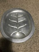 Century Silver Seal Cast Aluminum Roast Serving Tray Drip Pan Cookware Vintage