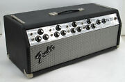 Fender Pa-100 Amp Head Cfa-7310 Silverface + Cover + New Tubes 6l6 Gc