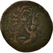 [496421] Coin Colombia 2 Reales 1814 Cartagena Vf20-25 Copper Kmd1