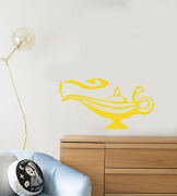 Vinyl Wall Decal Magic Lamp Jinn Fairy Tale Childrenand039s Room Stickers 3934ig