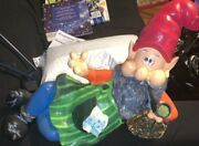 Hand Painted Garden Gnome One Of A Kind