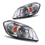 For 2005-2010 Chevy Cobalt 07-09 G5 05-06 Pursuit Headlight Assembly Replacement