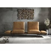 Acme Narech Sofa With Swivel In Nutmeg Top Grain Leather