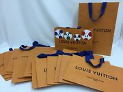 Auth Louis Vuitton Paper Dust Bag Middle And Small Mixed 22 Set 9h070020n