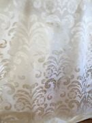 10y Beacon Hill 100 Silk Damask Lady Slipper Classic Antique White Msrp242/y