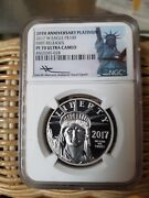 2017 W 100 Platinum Eagle Ngc Pf70 Ultra Cameo First Releases Mercanti