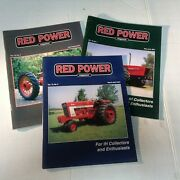 3 Red Power Magazines Volume 15/16 2001 Back Issues Ih Collectors Tractor