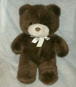 14 Vintage Brown Teddy Bear A To Zoo Toys Bunch Lovely Stuffed Animal Plush Toy