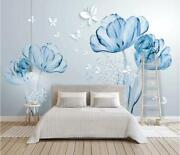 3d Flowers O1758 Wallpaper Wall Mural Removable Self-adhesive Sticker Kids Amy