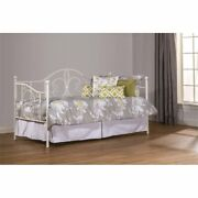 Hillsdale Hayward Daybed And Suspension Deck In Textured White